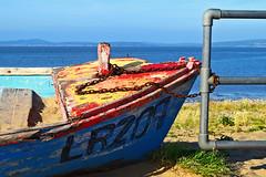 Long Time No Sea (Seldon,) Tags: seldonscott morecambe boat strandedboat utata:project=tw700