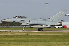 3074 (QSY on-route) Tags: 3074 german air force eurofighter typhoon cobra warrior 2019 raf waddington wtn egxw 18092019
