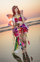 _MG_6533 (Mauro Petrolati) Tags: debora lolideb cosplay cosplayer idol maki nishikino fairy love live set alba sunrise spiaggia beach sea mare rimini comix 2019