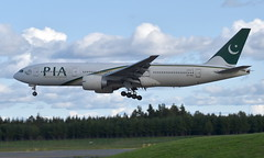 PIA AP-BGL, OSL ENGM Gardermoen (Inger Bjørndal Foss) Tags: apbgl pia boeing 777 osl engm gardermoen