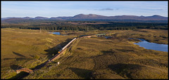 6S45 Rannoch approach (jbg06003) Tags: gbrf class66 alumina freight scr scotrail westhighland whl