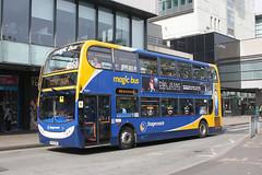 Stagecoach 19244 MX08 GMF (johnmorris13) Tags: stagecoach 19244 mx08gmf alexanderdennis enviro400 bus