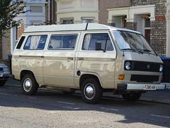 1989 Volkswagen Transporter Camper Van (Neil's classics) Tags: 1989 volkswagen transporter camper van t3 t25 vw camping motorhome autosleeper motorcaravan rv caravanette kombi mobilehome dormobile