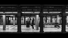Penn Station, Midtown Manhattan (Nico Geerlings) Tags: ngimages nicogeerlings nicogeerlingsphotography manhattan subway midtown blackandwhite leicammonochrom 35mm summilux streetphotography nyc ny usa newyorkcity