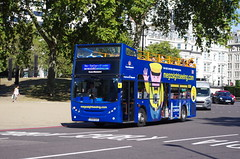 IMGP3627 (Steve Guess) Tags: hyde park corner london england gb uk open top topper topless sightseeing bus megabus enviro 400 adl alexander dennis lx56eao