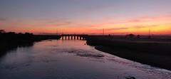 Mossband 19-09-2019 (fishpl8) Tags: sunset mossband carlisle riveresk wcml