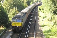 47802 Sittingbourne (localet63) Tags: class47 47802 railtour steamdreams sittingbourne westcoastrailways 1z11 emptystockmovement