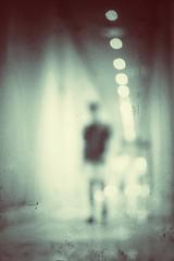 Wandering (Mister Blur) Tags: sea leaving massiveattack behind sly wandering corridor pasillo lights blurry flicker blur desenfoque legrand moon hotel palace resort rivieramaya cancún vacation mood monochrome snapseed nikon d7100 35mm lens nikkor f18 rodrigo rubén fotografía
