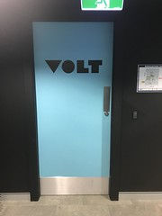 Volt Bank (Dushan and Miae) Tags: door teal