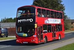 LJ03 MPF: Marsland, Rotherham (chucklebuster) Tags: lj03mpf marsland travel arriva london north wath upon dearne volvo b7tl wright eclipse gemini