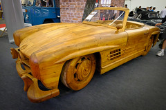 Mercedes-Benz 300 SL Gullwing Roadster (Werner Schnell Images (2.stream)) Tags: ws iaa19 iaa 2019 mercedesbenz 300 sl gullwing roadster holz wood