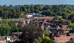 34092 | Bewdley | 19th Sept '19 (Frank Richards Photography) Tags: west country class pacific no 34092 city wells bridgnorth kidderminster bewdley steam gala 2019 autumn nikon d7100 town roof tops uk england sun english br green spam can severn valley railway svr