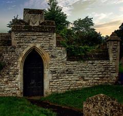 Churchyard Gateway 2 (uplandswolf) Tags: deeping marketdeeping church churchyard gate wall lincs lincolnshire