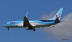 Boeing B737 ~ OO-JEF  TUI (Aero.passion DBC-1) Tags: spotting cdg 2019 boeing b737 ~ oojef tui dbc1 david biscove aeropassion avion aircraft aviation airport plane airlines airliner roissy