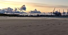 Sand, sand (mmichalec) Tags: sand piasek beach plaża sea water morze woda gdańsk tricity trójmiasto poland polska pomerania pomorze fujifilm stogi evening wieczór zachód