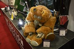 Propstore auction 2019 - 45 BATTLESTAR GALACTICA - Muffit II Robot Daggit Costume (aka stuff a chimp in a costume) (Mac Spud) Tags: london props prop movie memorabilia nikon z6