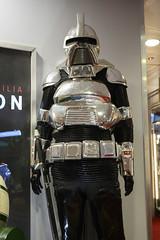 Propstore auction 2019 - 43 BATTLESTAR GALACTICA - Silver Cylon Centurion Costume (Mac Spud) Tags: london props prop movie memorabilia nikon z6
