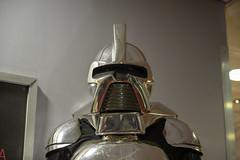 Propstore auction 2019 - 42 BATTLESTAR GALACTICA - Silver Cylon Centurion Costume (Mac Spud) Tags: london props prop movie memorabilia nikon z6
