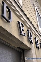 Oberösterreich Weyer_DSC0420 (reinhard_srb) Tags: oberösterreich weyer lost place aufschrift geschäft reinigung buchstabe letter fassade