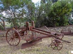 Horse Drawn Grader (mikecogh) Tags: freeling old heritage iron grader horsedrawn