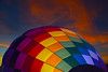 """Full of Hot Air"" (oybay©) Tags: sunset sky clouds open minimal minimalism vast phoenixballoonfestival winter arizona cactus hot color colors phoenix festival cacti balloons colorful air hotair balloon bluesky vehicle hotairballoon bounty redballoon chickfila suncitywest enmasse outdoor aircraft"