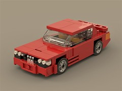 easy bmw E30 M3 (ron_dayes) Tags: lego minifig e30 bmw m3 vintage