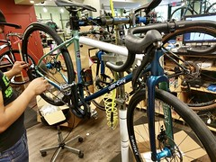 New Bike is Coming Along (Mr.TinDC) Tags: bike bicycle allcity cosmicstallion shimano ultegra whisky custombuild contes