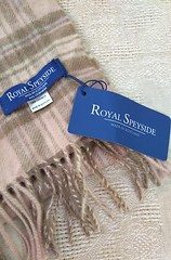 Royal Speyside Cashmere Scarf (Peony Cottage Boutique) Tags: cashmere scarf scarves scotland purecashmere fashion beautiful gift tartan plaid check