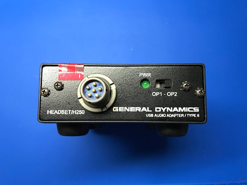 General Dynamics USB Audio Adapter / Type II