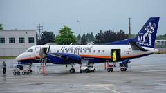 C-FPCU Saab 340B Pacific Coastal (SamCom) Tags: yvr cyvr vancouverinternationalairport cfpcu saab 340b pacificcoastal