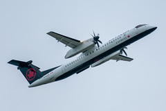 C-GJZK Bombardier DHC-8-402Q Air Canada Express / Jazz (SamCom) Tags: yvr cyvr vancouverinternationalairport cgjzk bombardier dhc8402q aircanadaexpress jazz
