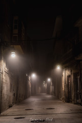 Rua Ferreria (sairacaz) Tags: niebla fog vigo galicia sony ilce7m3 24105mm noche night luces lights streetphotography street calle rua