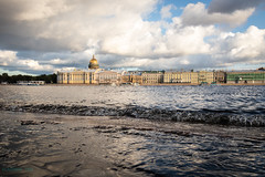 Wave (VladimirTro) Tags: россия река архитектура вода волна санктпетербург небо нева набережная исаакиевскийсобор russia russian river water waterscape neva wave saintpetersburg sky cityscape clouds europe embankment canonm50 efm18150mm mirrorless