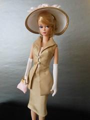 Fashionably Floral wearing Kunchris (ksavoie1213) Tags: kunchris fashionablyfloral silkstonebarbie barbie mattel 2014silkstonecollection