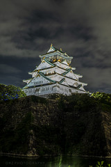 Osaka Castle (Master KZ) Tags: castle japan osaka longexposure 天守阁 nikond850 50mm ancient architecture osakacastle