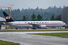 C-FDIJ Boeing 767-39H(ER) Cargojet (SamCom) Tags: yvr cyvr vancouverinternationalairport cfdij boeing 76739her cargojet b763