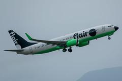 C-FFLJ Boeing 737-86J Flair Airlines (SamCom) Tags: yvr cyvr vancouverinternationalairport cfflj boeing 73786j flairairlines b738