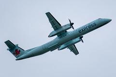 C-FSRY Bombardier DHC-8-402Q Air Canada Express / Jazz (SamCom) Tags: yvr cyvr vancouverinternationalairport cfsry bombardier dhc8402q aircanadaexpress jazz