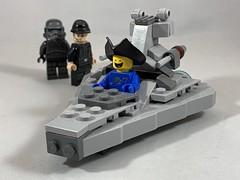 2019-262 - Arrrrrr! Spaceship!! (Steve Schar) Tags: stardestroyer spaceship benny talklikeapirateday minifigure lego project365 sunprairie wisconsin 2019