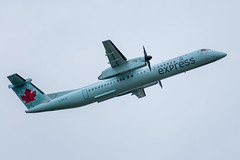 C-GXJZ Bombardier DHC-8-402Q Air Canada Express / Jazz (SamCom) Tags: yvr cyvr vancouverinternationalairport cgxjz bombardier dhc8402q aircanadaexpress jazz