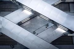 Escalator Life (Wilson Au | 一期一会) Tags: hongkong escalator streetphotography geometric pattern symmetry fujifilm xt3 fujinon xf35mmf14r 32 parallel 香港