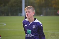 Season 2019-2020: U15 Anderlecht - Zulte Waregem
