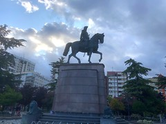 "Vacances19 054. (Joanbrebo) Tags: iphone365 iphonex statua estatua españa larioja logroño elespolón ""espartero"""