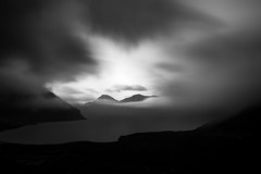 Faroe Islands No. 125 www.ColeThompsonPhotography.com (Cole Thompson) Tags: longexposure blackandwhite bw art monochrome mono blackwhite artwork cole noiretblanc fineart monochromatic photoart faroeislands bnw artphoto darkphoto longexp fineartphoto colethompson faroe's