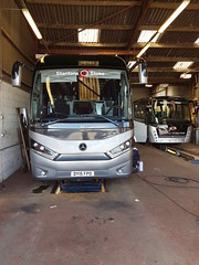 Latest Addition in the workshops (stokie14) Tags: stantons stoke mercedes coach unvi touring gt dy15fpo stantonsofstoke