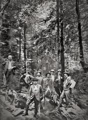 randonnée en Chartreuse vers 1900... Collection Reynald ARTAUD (Reynald ARTAUD) Tags: 1900 années ffrance alpes chartreuse randonnée collection reynald artaud