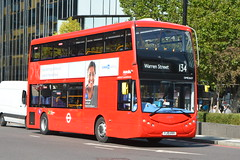 YJ19 HVH (OME2657) Metroline London (hotspur_star) Tags: londontransport londonbuses londonbus londonbuses2019 optaremetrodecker tfl transportforlondon busscene2019 doubledeck metrolinelondon yj19hvh ome2657 134 electricbus