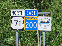 US-71/MN-200 signs near Itasca St. Park, 15 July 2019 (photography.by.ROEVER) Tags: minnesota 2019 july july2019 vacation roadtrip 2019vacation 2019roadtrip minnesota2019roadtrip minnesota2019vacation drive driving driver driverpic ontheroad road highway hubbardcounty sign shieldsign shieldsigns us71 ushighway71 highway71 minnesotastatehighway200 statehighway200 highway200 mn200 northus71 northboundus71 eastmn200 eastboundmn200 lakecountryscenicbyway byway scenicbyway itascastatepark afternoon usa