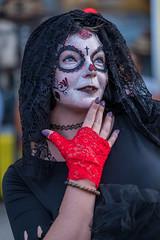 Día de Muertos (Day of the Dead, but early) (sniggie) Tags: bardstownroad dayofthedead díademuertos kentucky louisville louisvillezombiewalk zombie zombiewalk