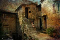 Tourrettes-sur-Loup (alanchanflor) Tags: canon exterior casa pueblo tejados esclaeras vetanas plantas macetas puertas francia torrettesurloup color